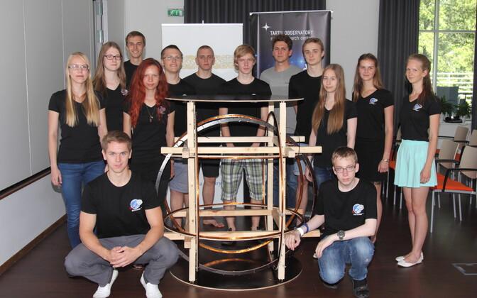 Teadusmalevlasd ehitasid Helmholtzi puuri.