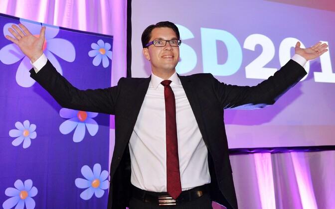 Rootsi Demokraatide juht Jimmie Akesson