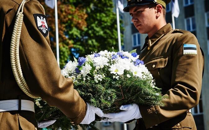 Üleeuroopalist mälestuspäeva peetakse alates 2009. aastast. Pildil on 2015. aasta tseremoonia.