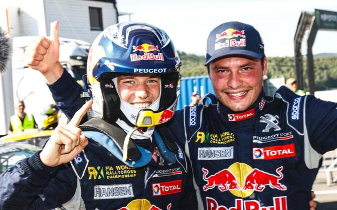 Timmy Hansen (vasakul) ja Davy Jeanney.