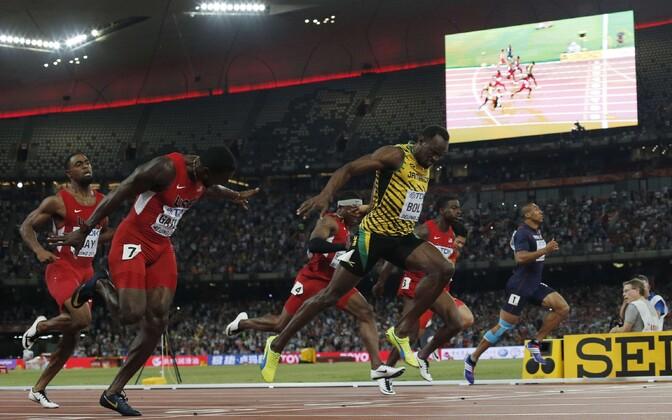 Teise võistluspäeva naelaks oli meeste 100 m jooksu finaal.