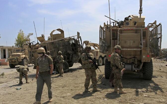 NATO sõdurid Afganistanis.