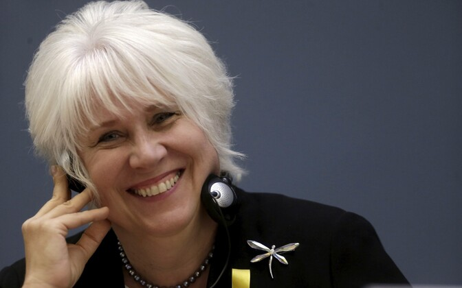 An opinion poll named Marina Kaljurand as people's top choice for the next president of Estonia.