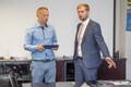 Tallinna Sadama õigusosakonna juhataja Toomas Tralla ja nõukogu esimees Remo Holsmer