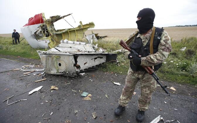 Donetski separatist lennukatastroofi sündmuskohal