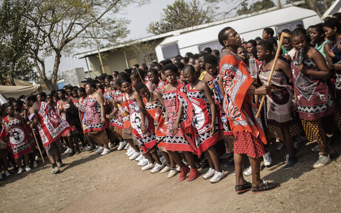 Svaasimaa naised tseremoonial