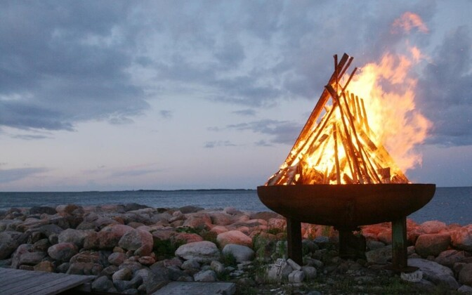 Night of the Ancient Lights was celebrated around the Baltic Sea on Saturday.