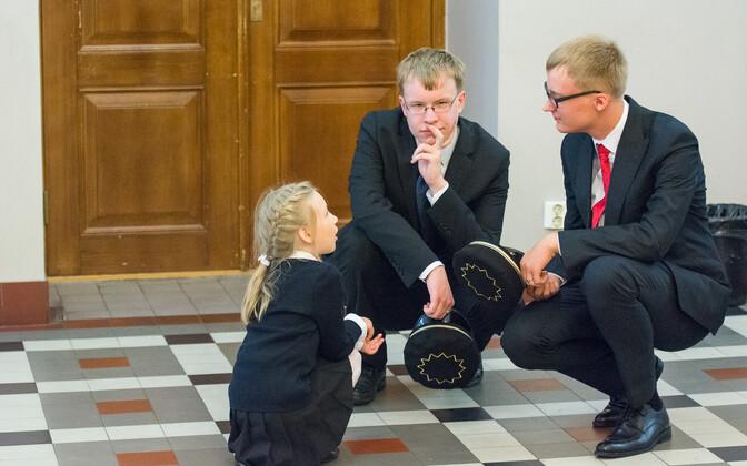 1. september Tallinna koolides