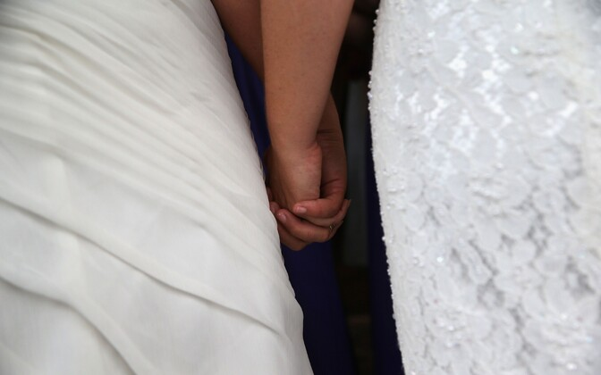 A same-sex U.S-Estonian couple is caught in a Catch-22 in the Estonian legal system as Estonia will not recognize their marriage concluded in the U.S. but will also not allow them to register their cohabitation in Estonia.