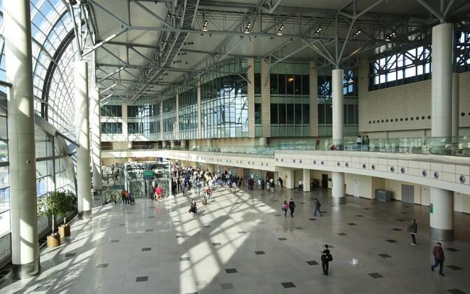 Moskva Domodedovo lennujaama terminal, arhiivifoto