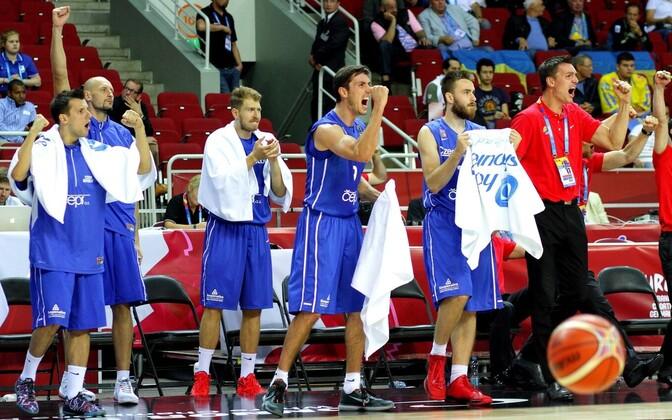 Tšehhi korvpallikoondis
