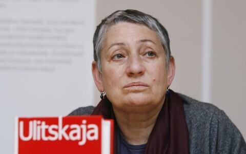 Ljudmila Ulitskaja Tartu kirjandusfestivalil Prima Vista aastal 2008.