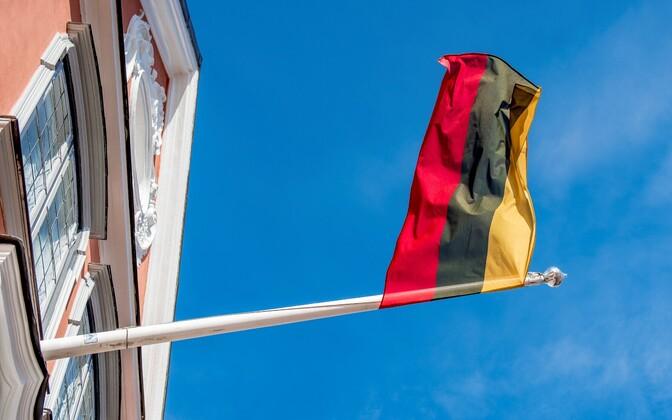 Флаг Литвы.