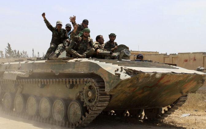 Süüria valitsusväelased.