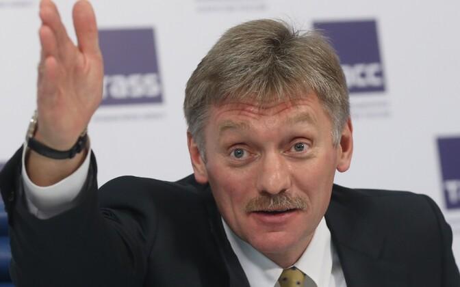 Kremli pressiesindaja Dmitri Peskov