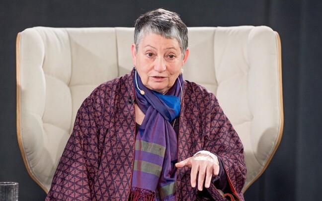 Писатель Людмила Улицкая в Таллинне в 2015 году.
