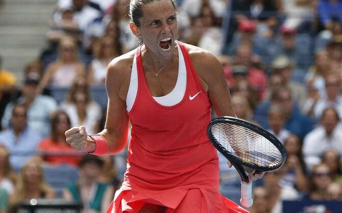 Roberta Vinci jõudis US Openil finaali.