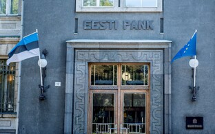The Bank of Estonia is the country's central bank.