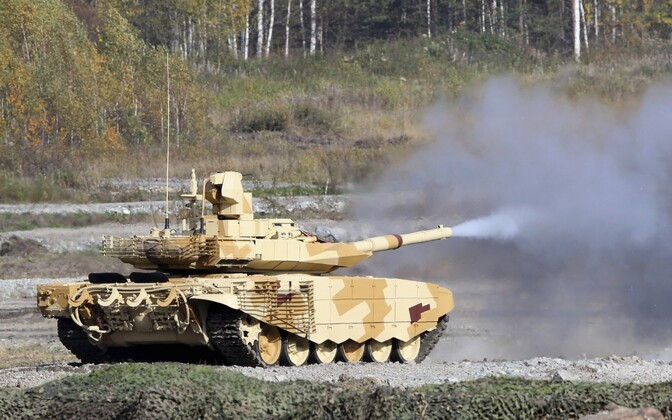 Russian T-90 tank. Photo is illustrative.