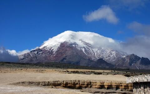 Chimborazo mägi.