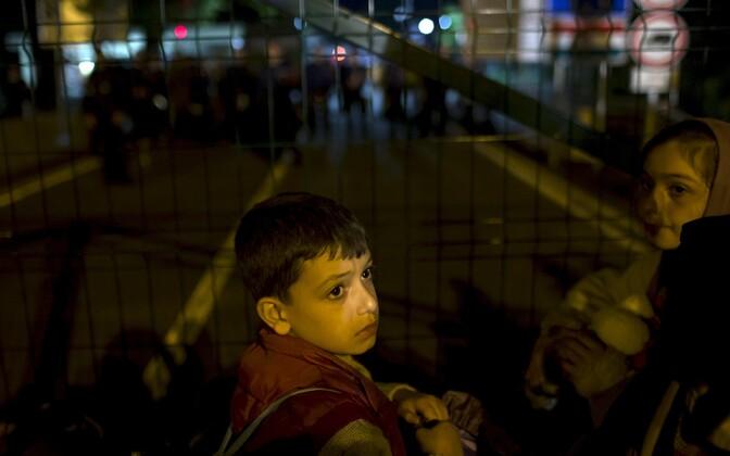 Põgenikud ootavad sissepääsu Ungarisse