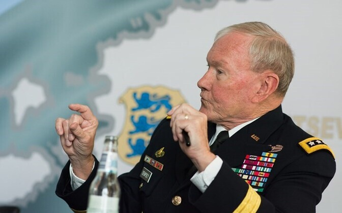 General Martin Dempsey, the Chairman of the US Joint Chiefs of Staff visited Estonia.