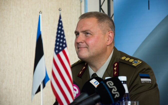 Commander-in-Chief of the Estonian Defence Forces Lt. Gen. Riho Terras.