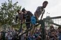 Kokkupõrked Ungari politsei ja migrantide vahel Serbia piiril
