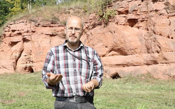 TÜ geoloogia ja mineraloogia professor Kalle Kirsimäe.
