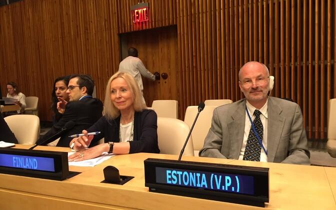 Eesti valiti 17. septembril ÜRO peakorteris New Yorgis ECOSOC-i asepresidendiks.