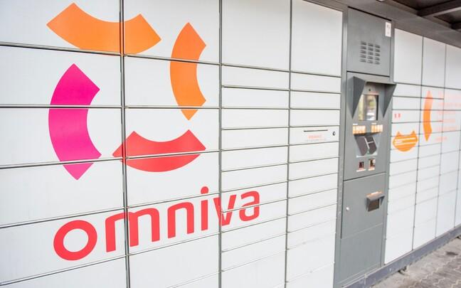 Посылочные автоматы Omniva.