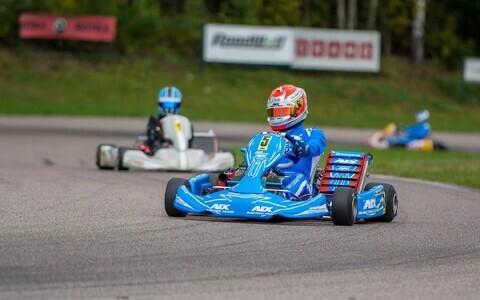 Max-klassi Eesti meister ja Aravete etapi võitja KZ2-klassis Sten Dorian Piirimägi