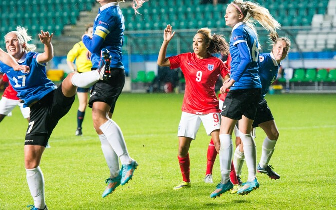 Naiste EM-valikmäng jalgpallis: Eesti - Inglismaa