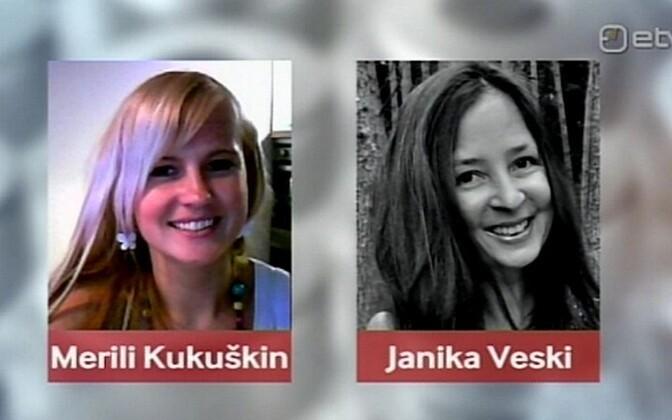 Merili Kukuškin ja Janika Veski.