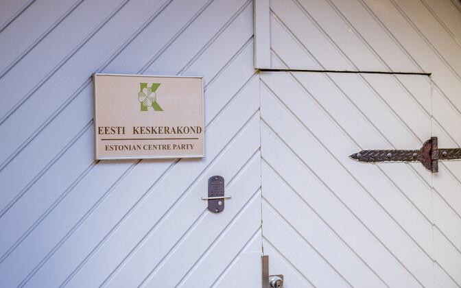 Keskerakonna kontor aadressil Toom-Rüütli 3/5.