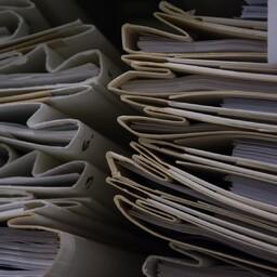 Kaustad dokumentidega.