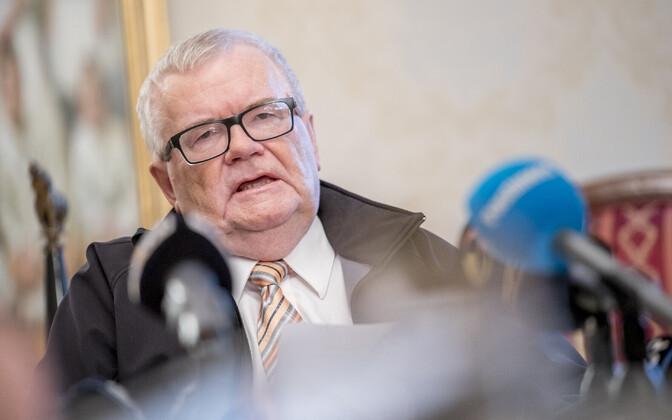 Сам Эдгар Сависаар будет баллотироваться в Таллинне.