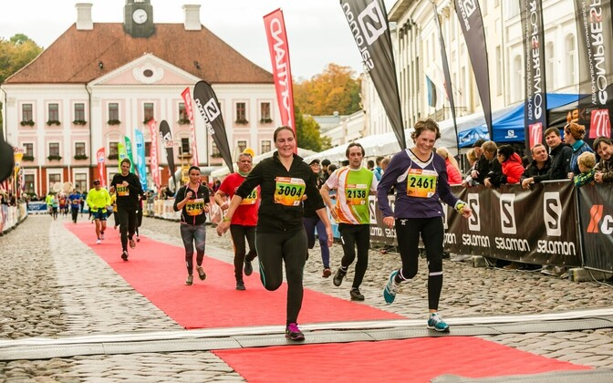 Тартуский городской марафон.