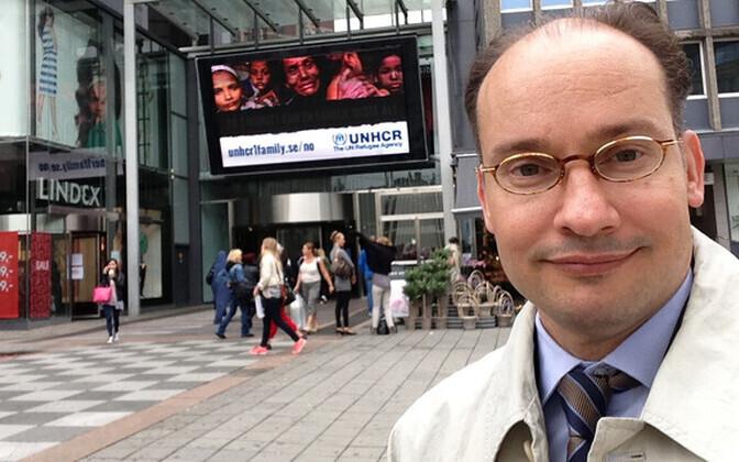 UNHCR-i Põhja-Euroopa esinduse kõneisik Markku Aikomus