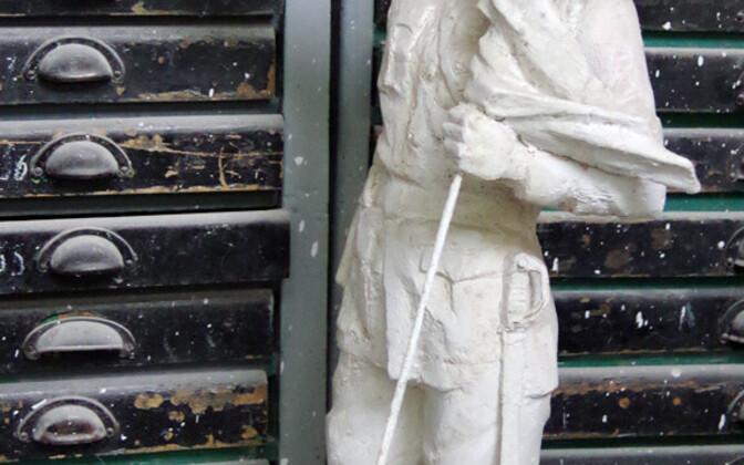 Jaak Soansi teos kujurite näitusel