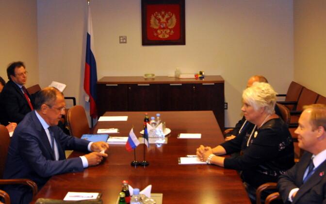 Viimane Eesti-Vene arvestatav kontakt toimus 2015. aastal, kui New Yorgis vestlesid ÜRO peahoones välisministrid Marina Kaljurand ja Sergei Lavrov.