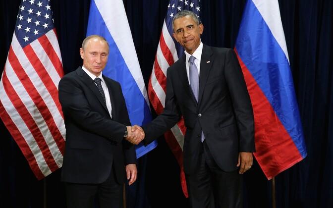 Vladimir Putin ja Barack Obama