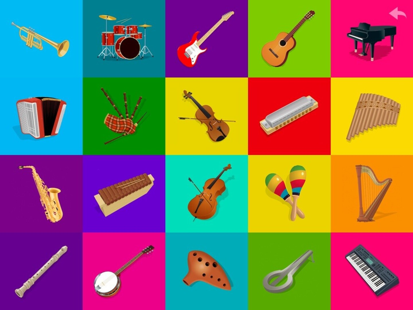 Free printable pictures of musical instruments 90 Best Instagram
