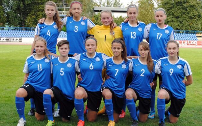 Eesti neidude U-17 jalgpallikoondis