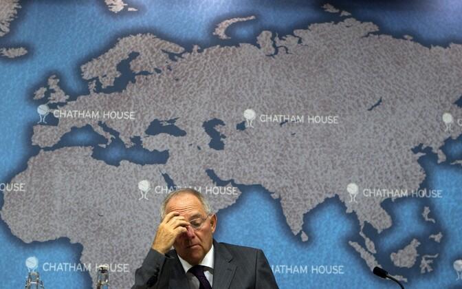 Wolfgang Schäuble 2011. aastal Londonis toimunud konverentsil