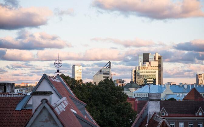 Vaade Tallinnale.
