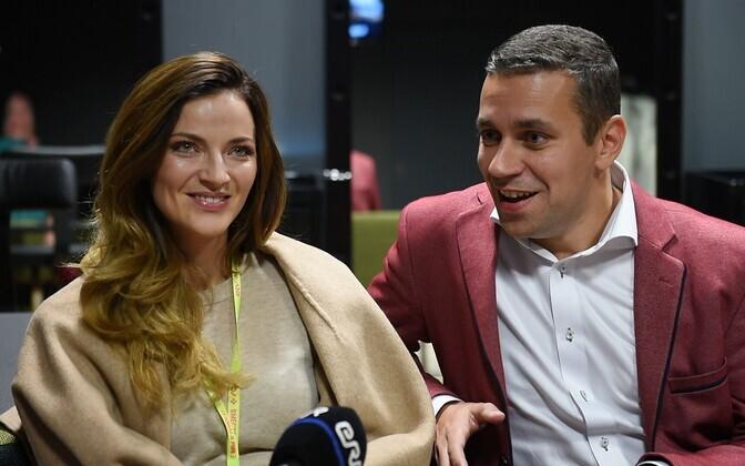 Anna Sapronenko ja Andrei Titov