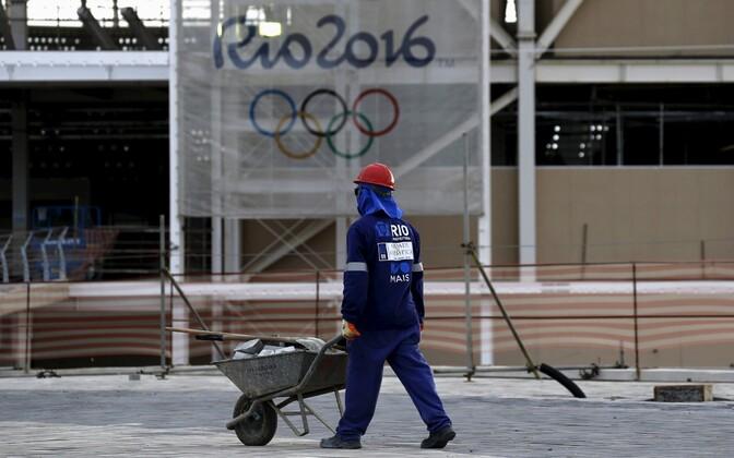Rio de Janeiro olümpiamängude ettevalmistustööd
