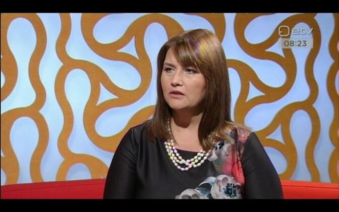Minister Liisa Oviir.