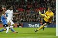 Estonian football team lost 2-0 to England.